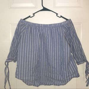 H&M Off the Shoulder Blouse